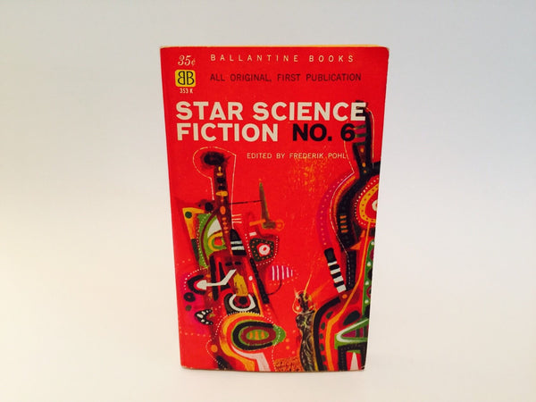 Star Science Fiction No. 6 Edited by Freerik Pohl 1959 Paperback Anthology - LaCreeperie