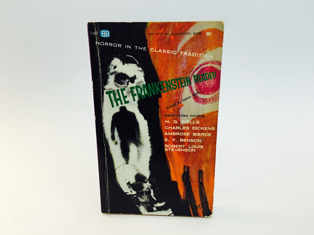 The Frankenstein Reader 1962 Paperback Anthology - LaCreeperie