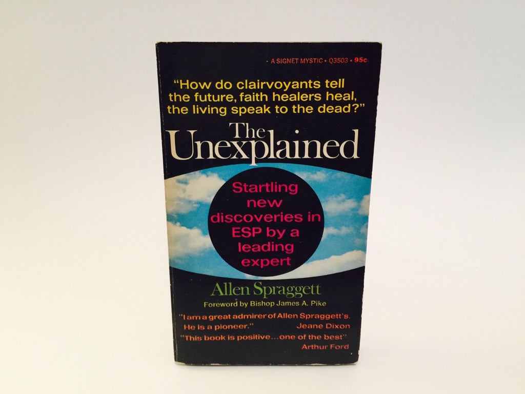 The Unexplained by Allen Spraggett 1968 Paperback - LaCreeperie