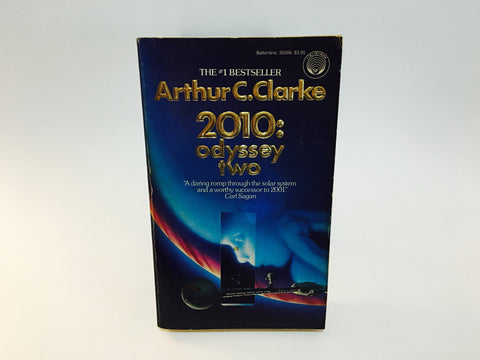2010: Odyssey Two by Arthur C. Clark 1984 Paperback