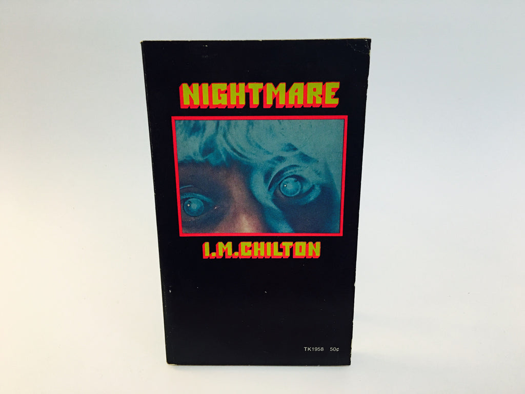 Nightmare by I. M. Chilton 1971 Paperback Time Travel - LaCreeperie