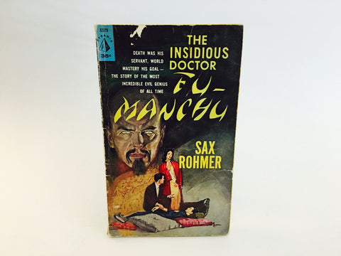The Insidious Doctor Fu Manchu by Sax Rohmer 1961 Paperback