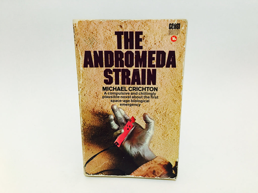 The Andromeda Strain by Michael Crichton 1971 UK Edition Paperback - LaCreeperie