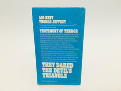 They Dared the Devil's Triangle by Adi-Kent Thomas 1975 Paperback - LaCreeperie