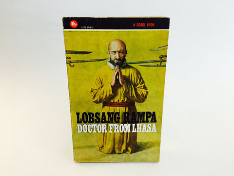 Doctor From Lhasa by Lobsang Rampa 1974 UK Corgi Edition Paperback