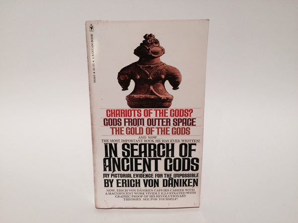 In Search of Ancient Gods by Erich Bon Daniken 1975 Paperback - LaCreeperie