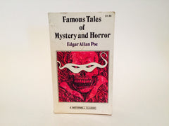 Famous Tales of Mystery and Horror by Edgar Allan Poe 1980 Paperback Anthology - LaCreeperie