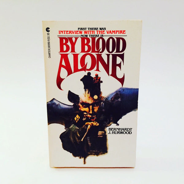 By Blood Alone by Bernhardt Hurwood 1979 Paperback - LaCreeperie