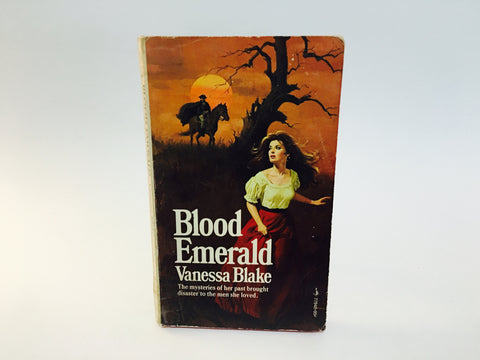 Blood Emerald by Vanessa Blake 1975 Edition Paperback