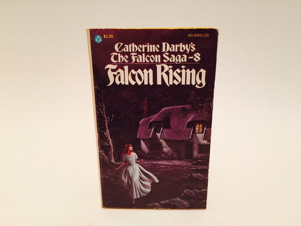 The Falcon Saga #8: Falcon Rising by Catherine Darby 1976 Paperback - LaCreeperie