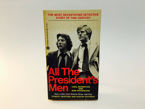 All The President's Men by Carl Bernstein& Bob Woodward Movie Tie-In Edition Paperback