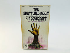 The Shuttered Room by H.P. Lovecraft & August Derleth 1971 Paperback Anthology - LaCreeperie