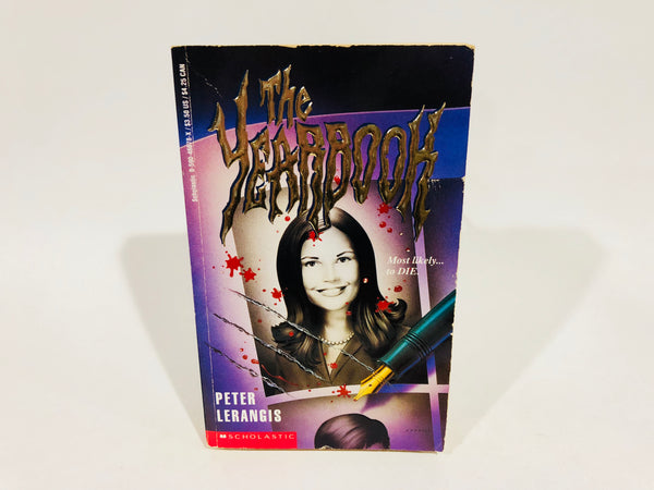 The Yearbook by Peter Lerangis 1994 Paperback