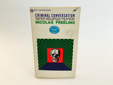 Criminal Conversation by Nicolas Freeling 1967 Paperback
