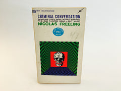 Criminal Conversation by Nicolas Freeling 1967 Paperback - LaCreeperie