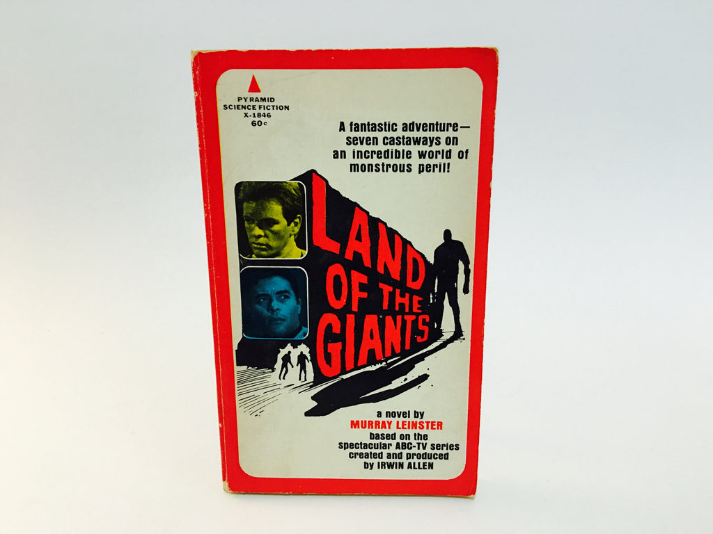 Land of the Giants 1968 Film Novelization Paperback - LaCreeperie