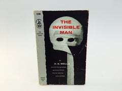 The Invisible Man by H. G. Wells 1957 Paperback - LaCreeperie