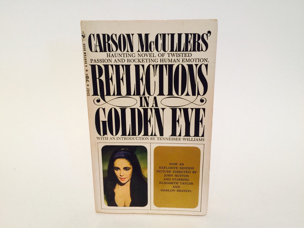 Reflections in a Golden Eye by Carson McCullers 1967 Movie Tie-In Edition Paperback - LaCreeperie