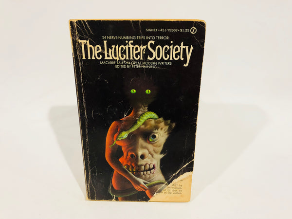 The Lucifer Society 1973 Paperback Anthology