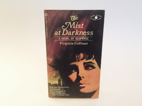 The Mist At Darkness by Virginia Coffman 1968 Paperback