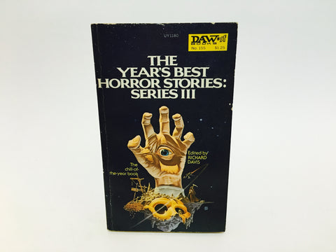 The Year's Best Horror Stories Series III 1975 Paperback Anthology