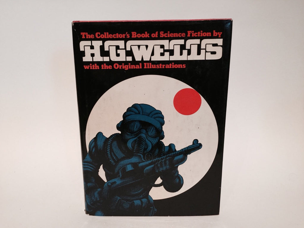 The Collector's Book of Science Fiction by H. G. Wells 1978 Hardcover Anthology Illustrated - LaCreeperie