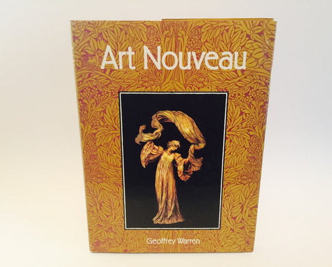 Art Nouveau by Geoffrey Warren 1988 Hardcover