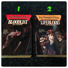 The Vampire Files by P.N Elrod 1990-1992 Paperback Series - LaCreeperie