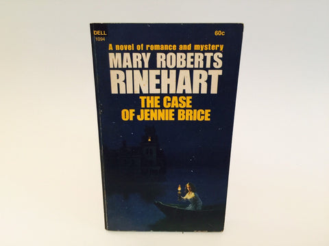 The Case of Jennie Brice by Mary Roberts Rinehart 1969 Paperback