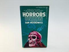 Horrors Unseen Edited by Sam Moskowitz 1974 Paperback Anthology - LaCreeperie