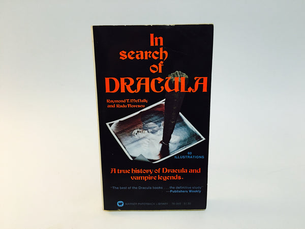 In Search of Dracula by Raymond McNally 1972 Paperback Edition - LaCreeperie