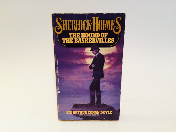 Sherlock Holmes - The Hound of the Baskervilles by Sir Arthur Conan Doyle 1980s Paperback - LaCreeperie