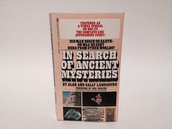 Ancient Mysteries by Alan & Sally Landsburg 1974 Paperback - LaCreeperie