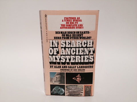 Ancient Mysteries by Alan & Sally Landsburg 1974 Paperback