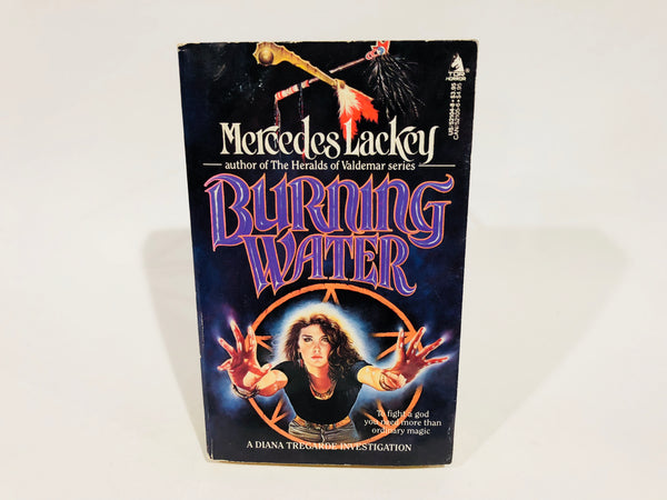 Burning Water by Mercedes Lackey 1989 First Edition Paperback
