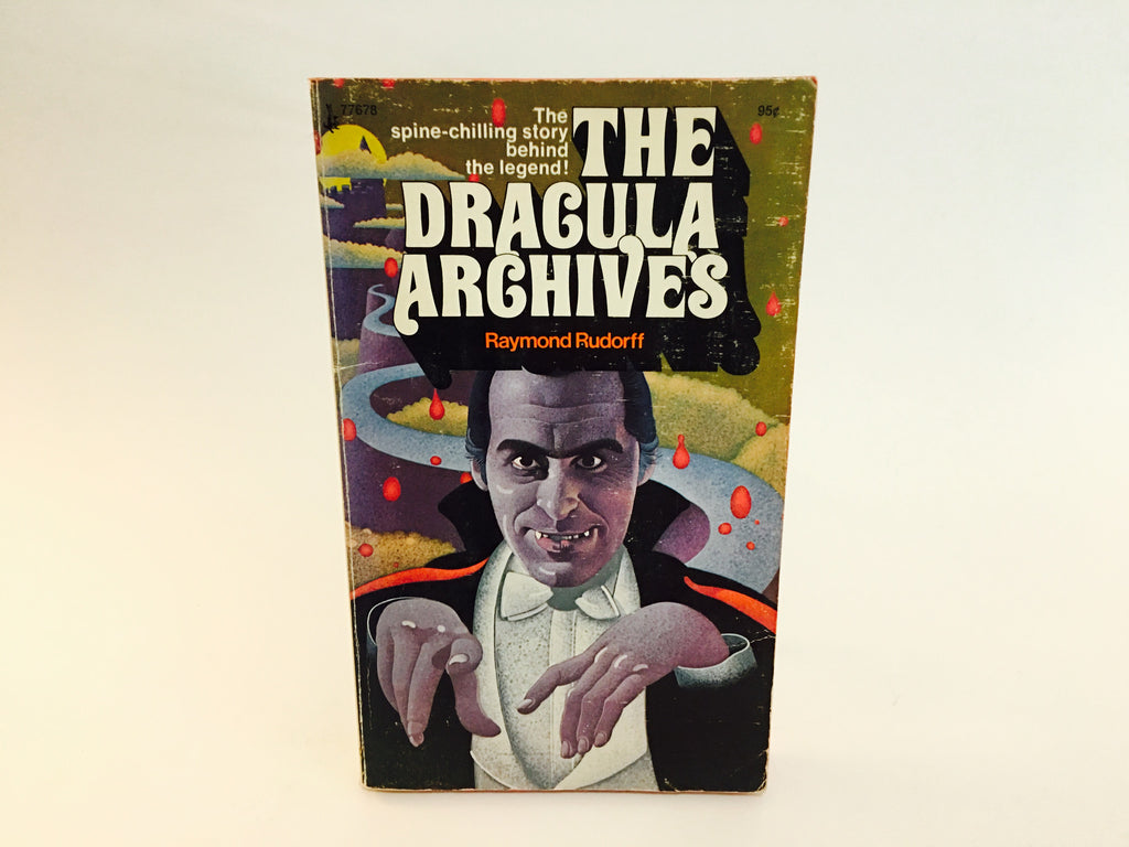 The Dracula Archives by Raymond Rudorff 1973 Paperback - LaCreeperie