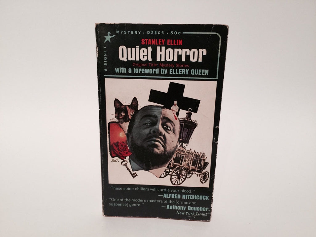 Quiet Horror by Stanley Ellin 1965 Paperback Anthology - LaCreeperie