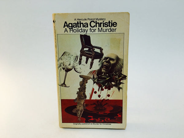 A Holiday For Murder by Agatha Christie 1980 Paperback - LaCreeperie