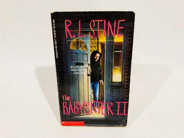 The Babysitter II by R.L. Stine 1991 Paperback