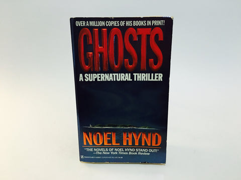 Ghosts by Noel Hynd 1993 Paperback