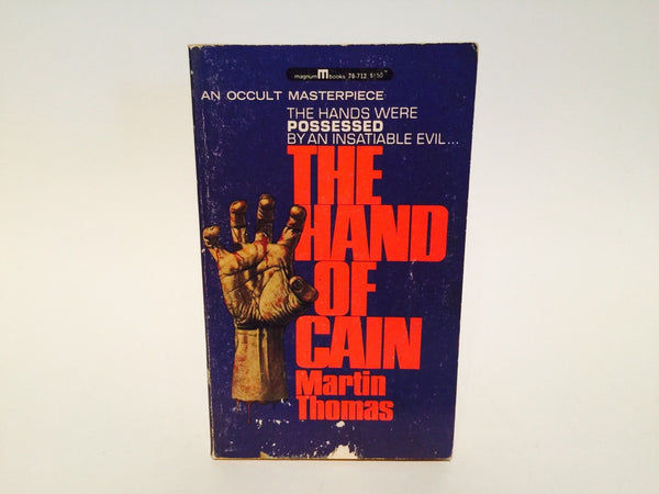 The Hand of Cain by Martin Thomas 1967 Paperback - LaCreeperie