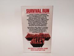 Damnation Alley by Roger Zelazny 1977 Movie Tie-In Edition Paperback - LaCreeperie