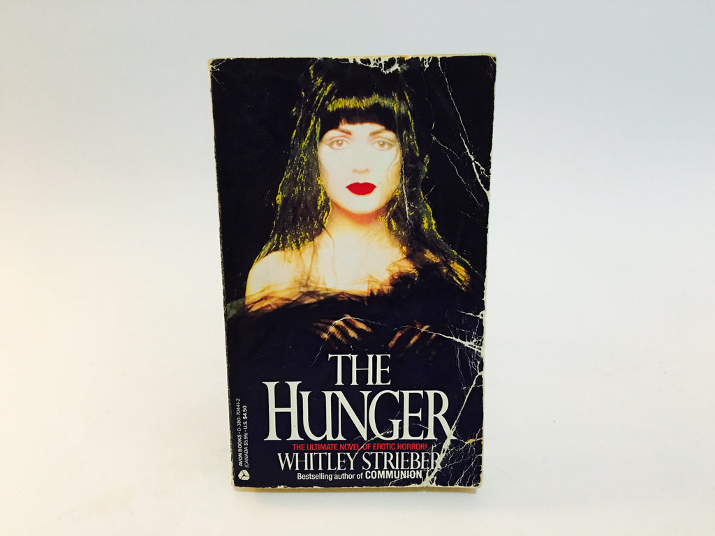 The Hunger by Whitley Strieber 1988 Paperback - LaCreeperie
