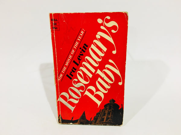Rosemary's Baby by Ira Levin 1968 Movie Tie-In Edition Paperback
