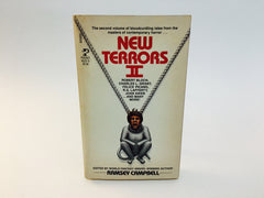 New Terrors II - Ramsey Campbell 1984 Paperback Anthology - LaCreeperie
