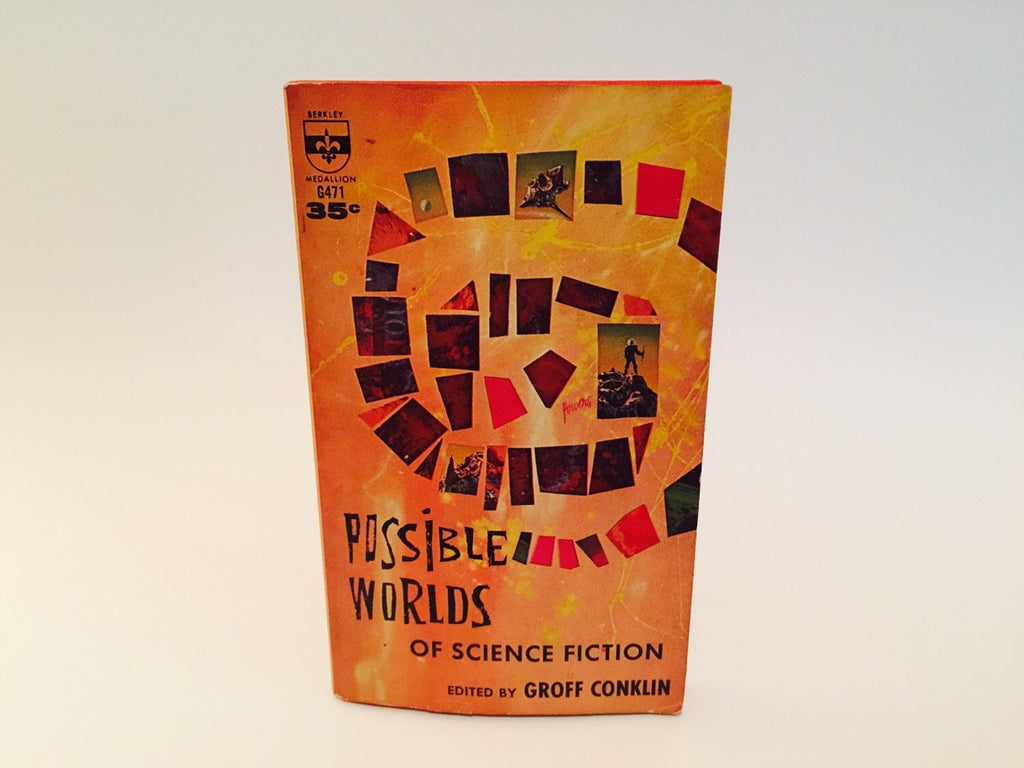 Possible Worlds of Science Fiction Edited by Groff Conklin 1960 Paperback Anthology - LaCreeperie