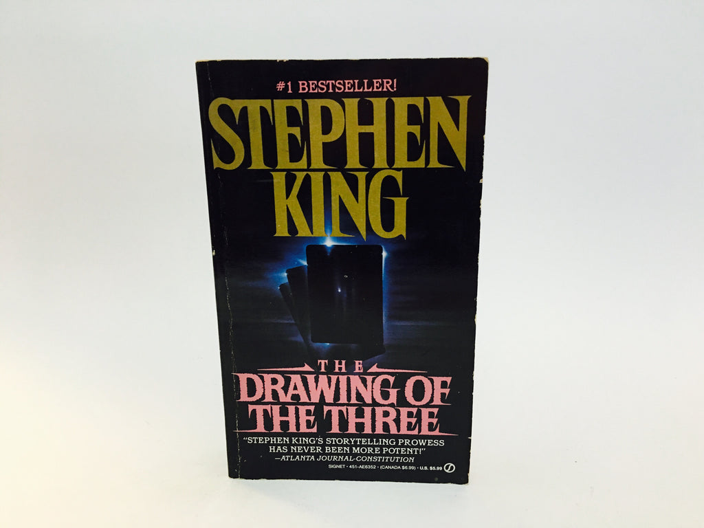 The Dark Tower - The Drawing of the Three by Stephen King 1990 Paperback - LaCreeperie