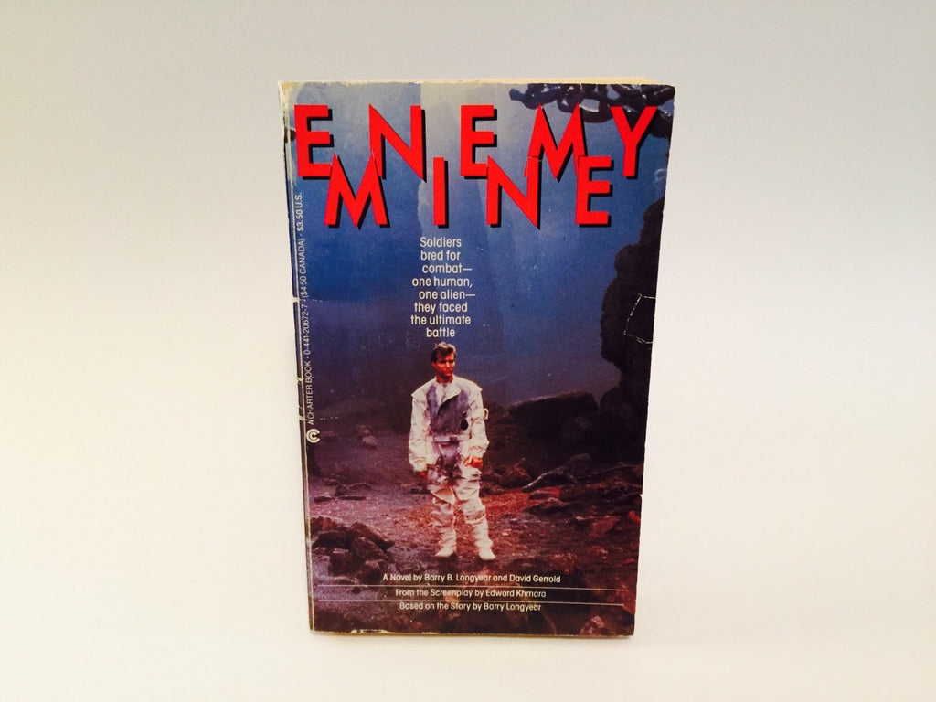 Enemy Mine Film Novelization 1985 Paperback - LaCreeperie