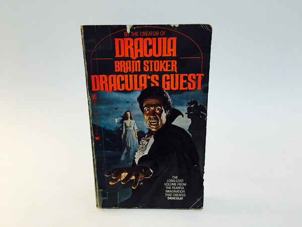 Dracula's Guest by Bram Stoker 1978 Paperback Anthology - LaCreeperie