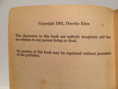 Bridge of Fear by Dorothy Eden 1961 Paperback - LaCreeperie